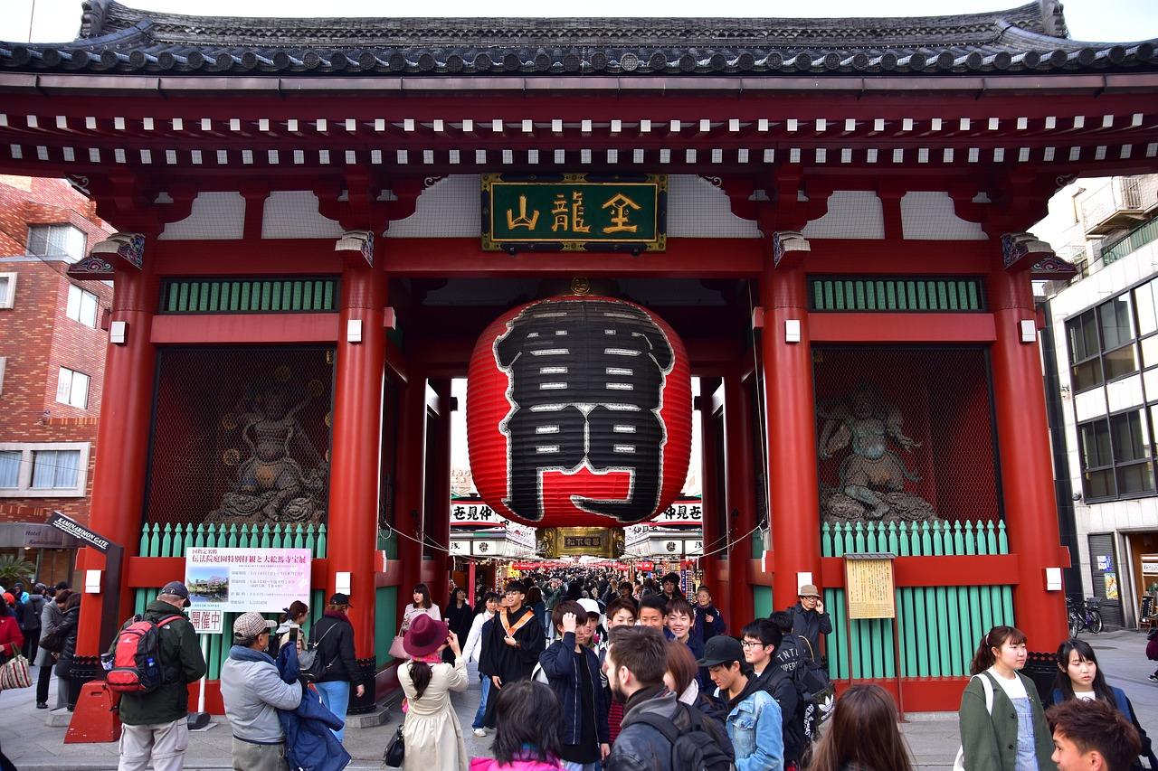 วัดเซนโซจิ (Senso-ji Temple)
